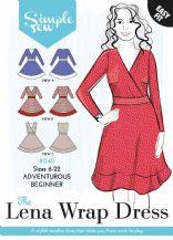 Simple Sew Lena Wrap Dress Sewing Pattern